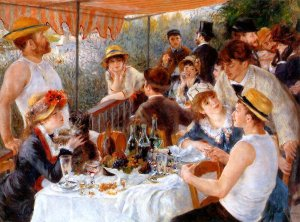 """The Luncheon of the Boating Party"""